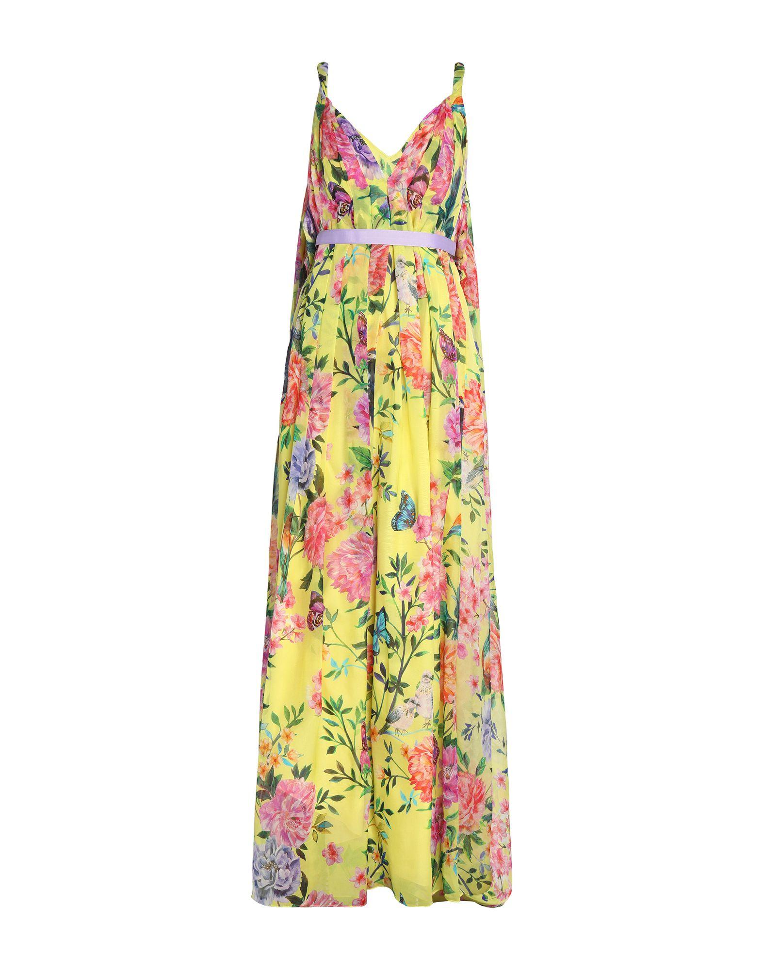 купить MATTHEW WILLIAMSON Длинное платье по цене 41000 рублей