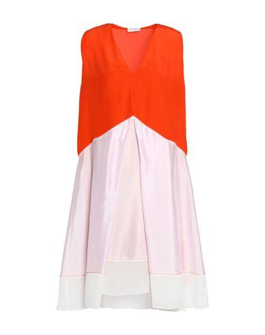 Купить Платье до колена оранжевого цвета