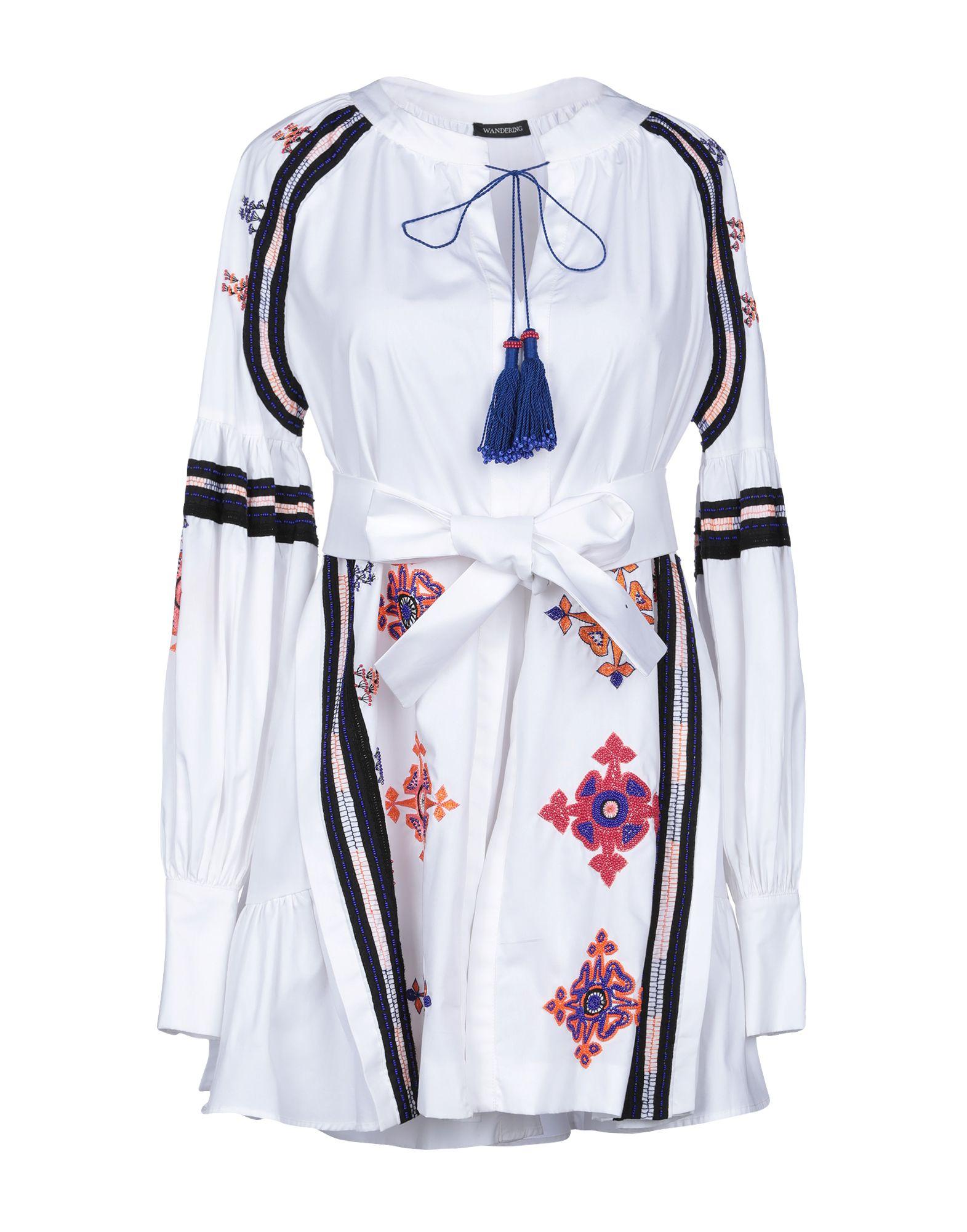 WANDERING Короткое платье