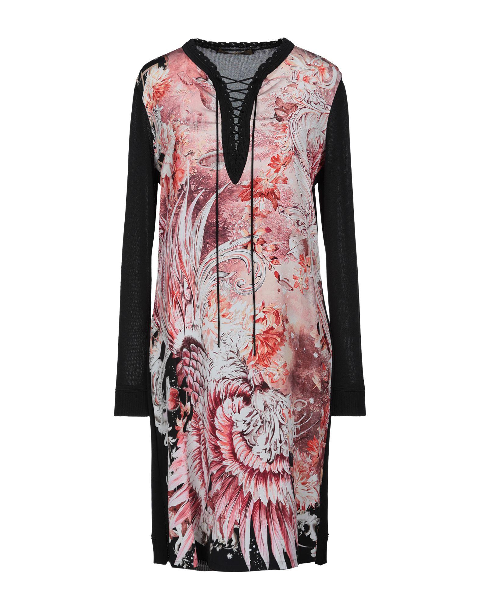 купить ROBERTO CAVALLI Короткое платье по цене 28850 рублей