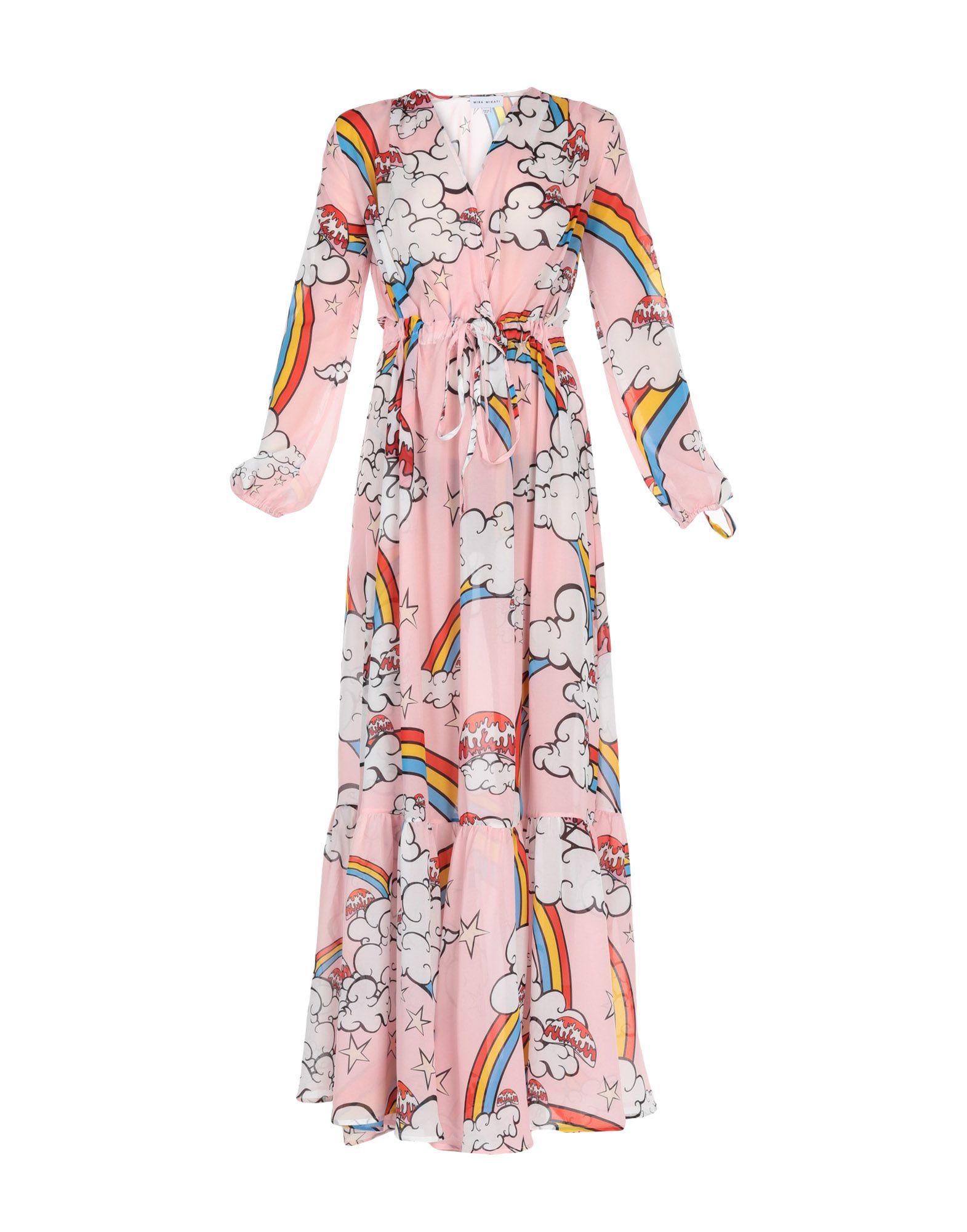 MIRA MIKATI Длинное платье