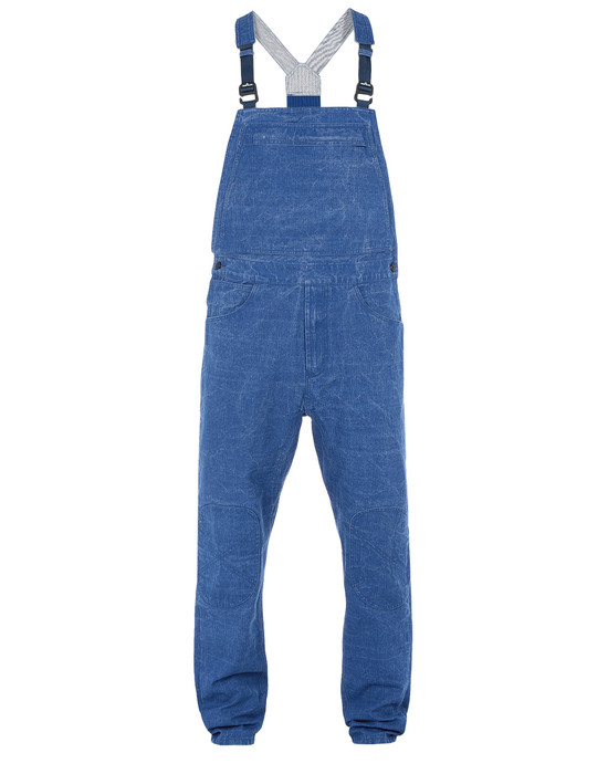 OVERALL F01J1 PANAMA PLACCATO RE-T STONE ISLAND - 0
