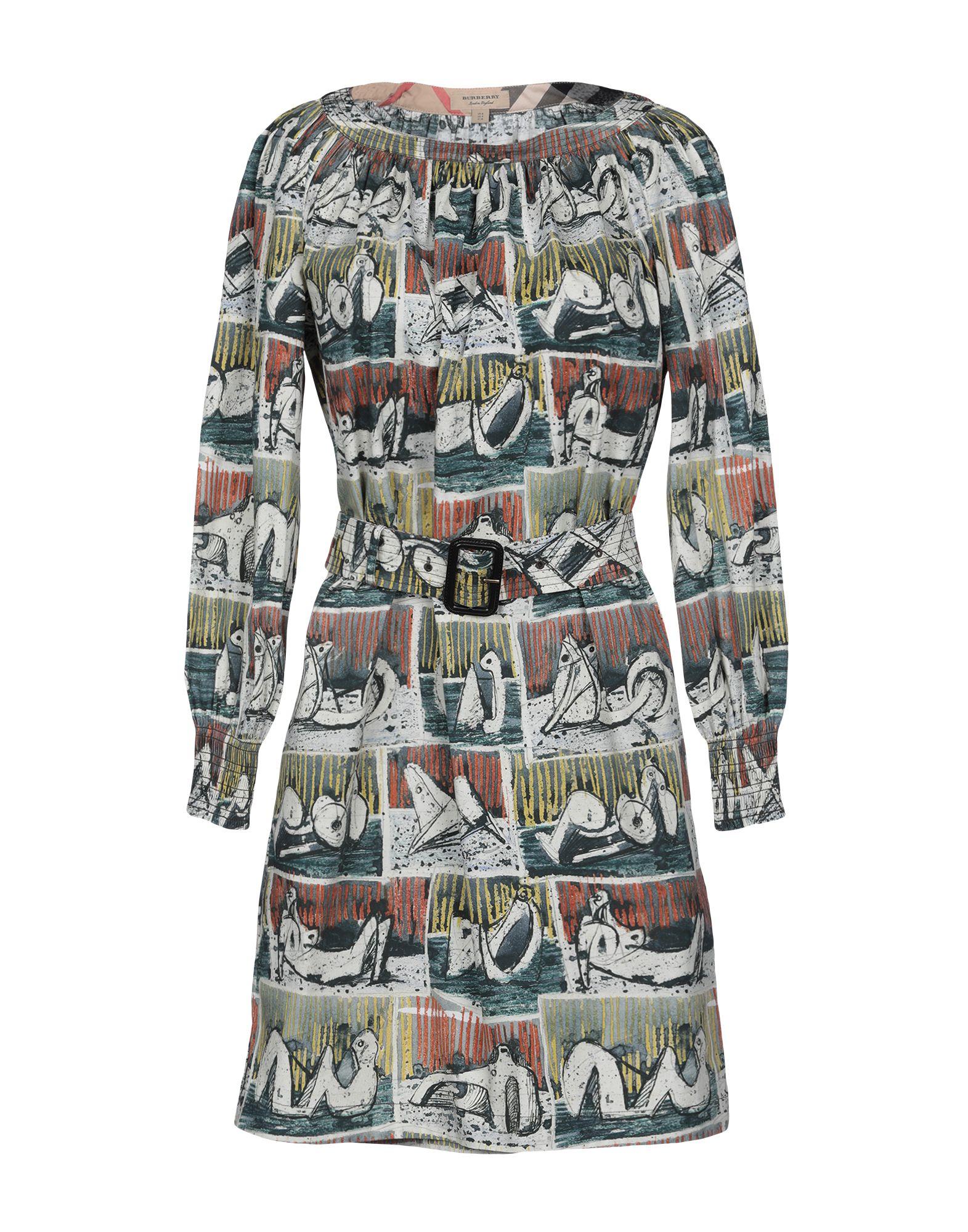 BURBERRY Короткое платье цена 2017