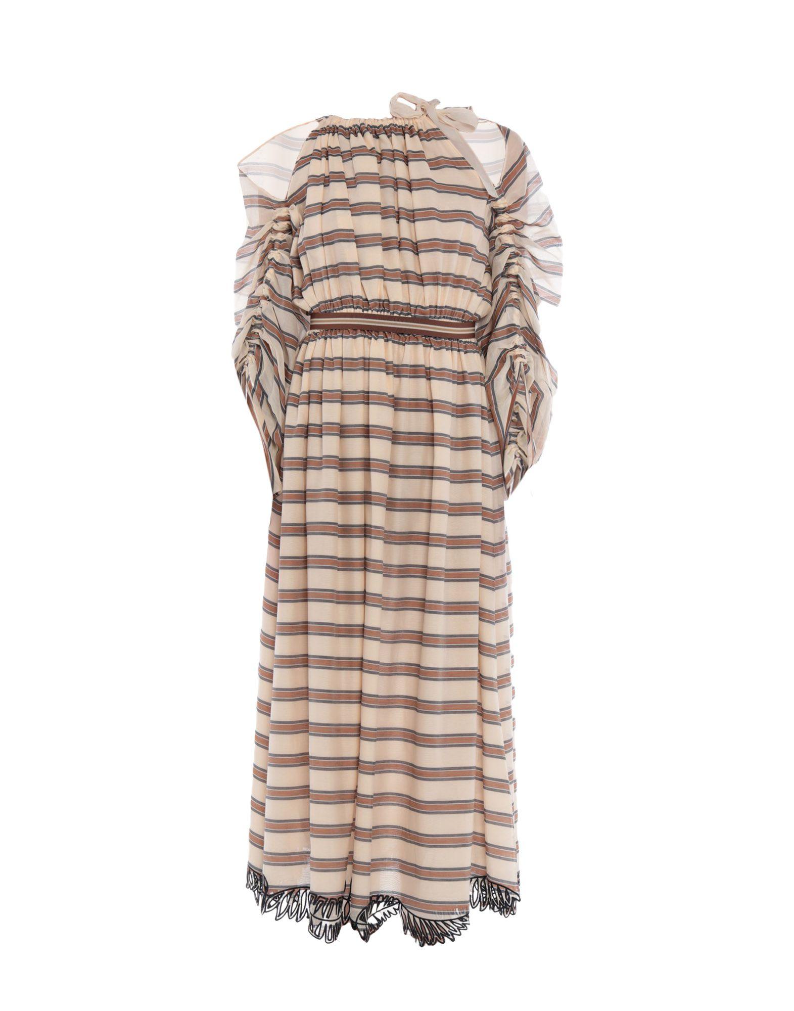 FENDI Платье длиной 3/4 fendi платье до колена