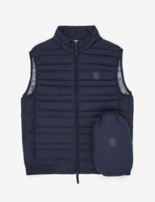 ARMANI EXCHANGE CLASSIC PACKABLE DOWN-FILL PUFFER VEST Vest [*** pickupInStoreShippingNotGuaranteed_info ***] b
