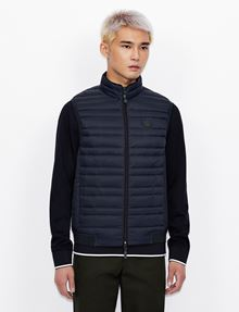 ARMANI EXCHANGE CLASSIC PACKABLE DOWN-FILL PUFFER VEST Vest [*** pickupInStoreShippingNotGuaranteed_info ***] f