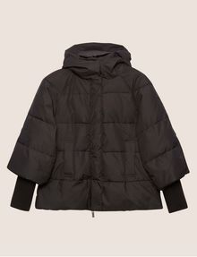 ARMANI EXCHANGE CROPPED HOODED PUFFER JACKET PUFFER JACKET [*** pickupInStoreShipping_info ***] r