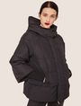 ARMANI EXCHANGE CROPPED HOODED PUFFER JACKET PUFFER JACKET Woman f