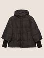 ARMANI EXCHANGE CROPPED HOODED PUFFER JACKET PUFFER JACKET Woman r