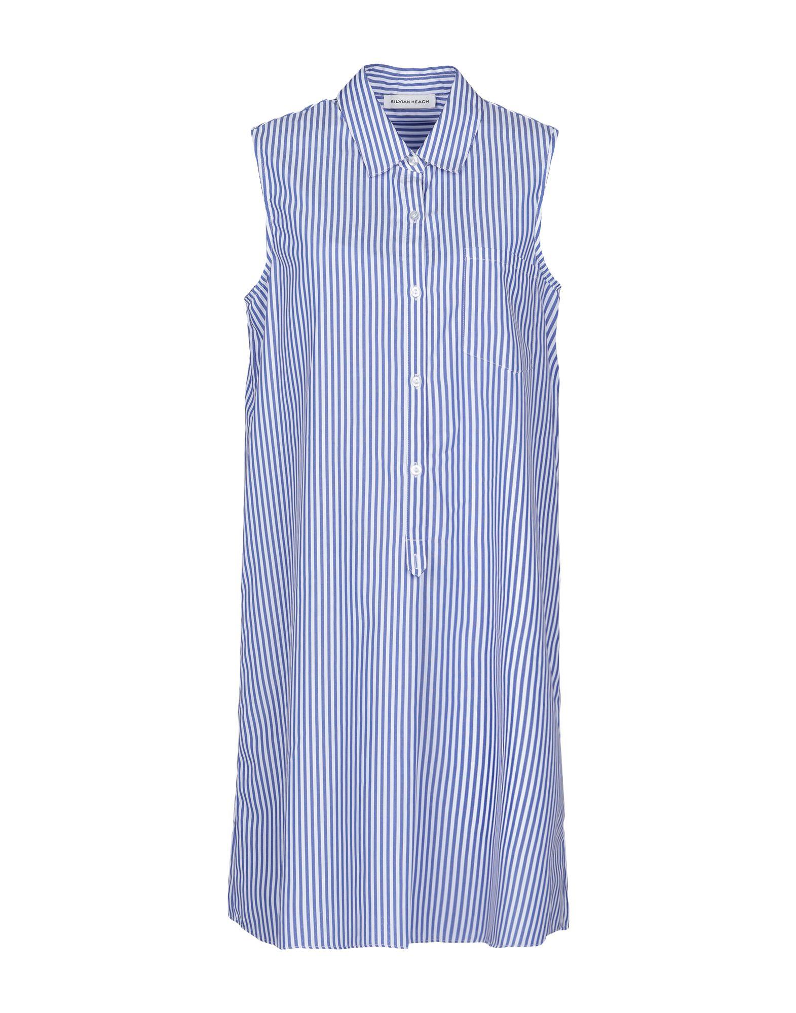 SILVIAN HEACH Короткое платье рубашка silvian heach kids рубашка