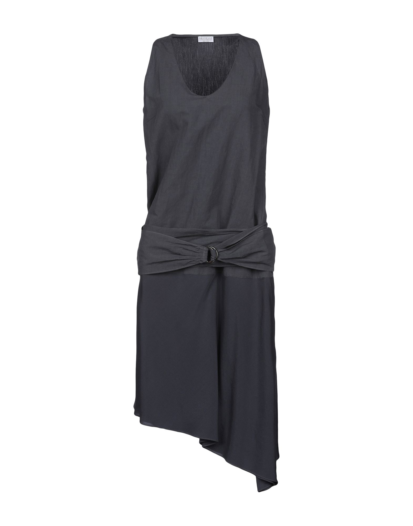BRUNELLO CUCINELLI Платье до колена цена 2017