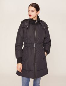 ARMANI EXCHANGE BELTED HOODED PUFFER COAT PUFFER JACKET [*** pickupInStoreShipping_info ***] f