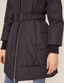 ARMANI EXCHANGE BELTED HOODED PUFFER COAT PUFFER JACKET [*** pickupInStoreShipping_info ***] b