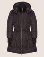 ARMANI EXCHANGE BELTED HOODED PUFFER COAT PUFFER JACKET [*** pickupInStoreShipping_info ***] r