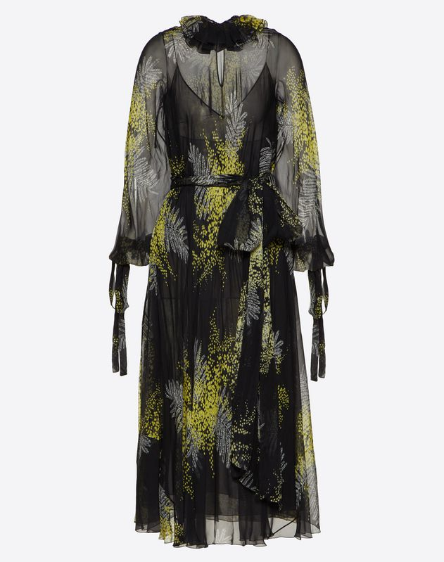 Vestido de gasa Mimosa