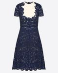 Crêpe Couture and Heavy Lace Dress
