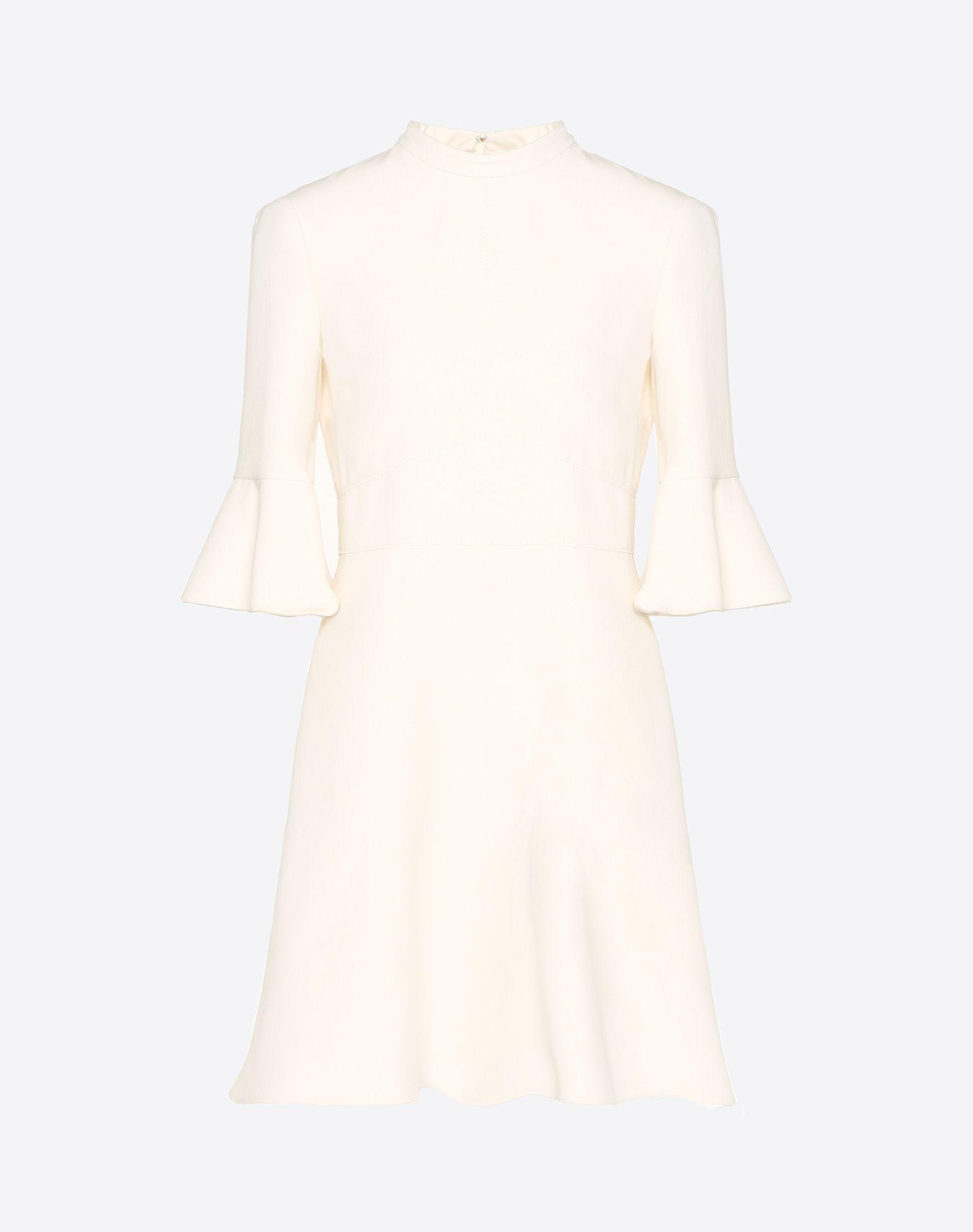 Crêpe Couture Dress
