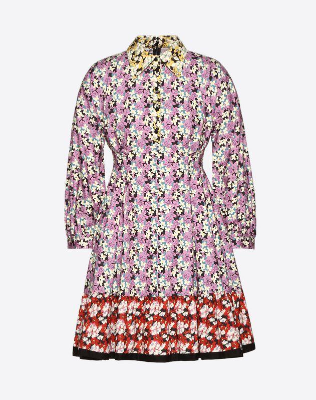 Spring Garden Poplin Dress