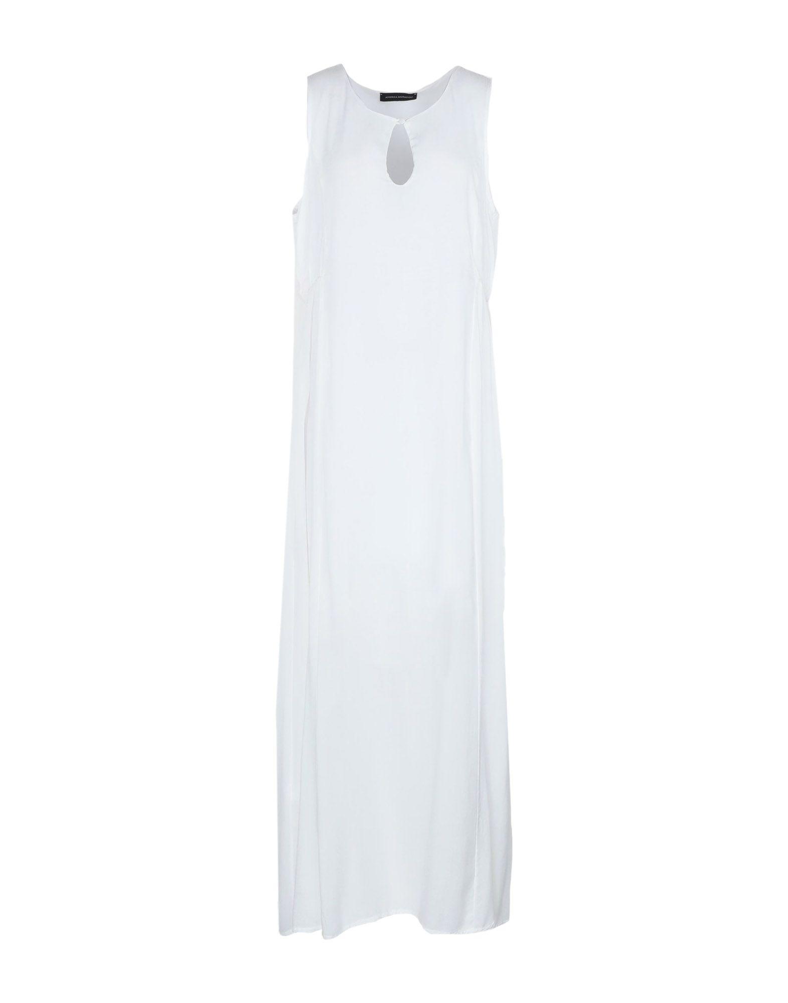 все цены на ANDREA MORANDO Длинное платье онлайн