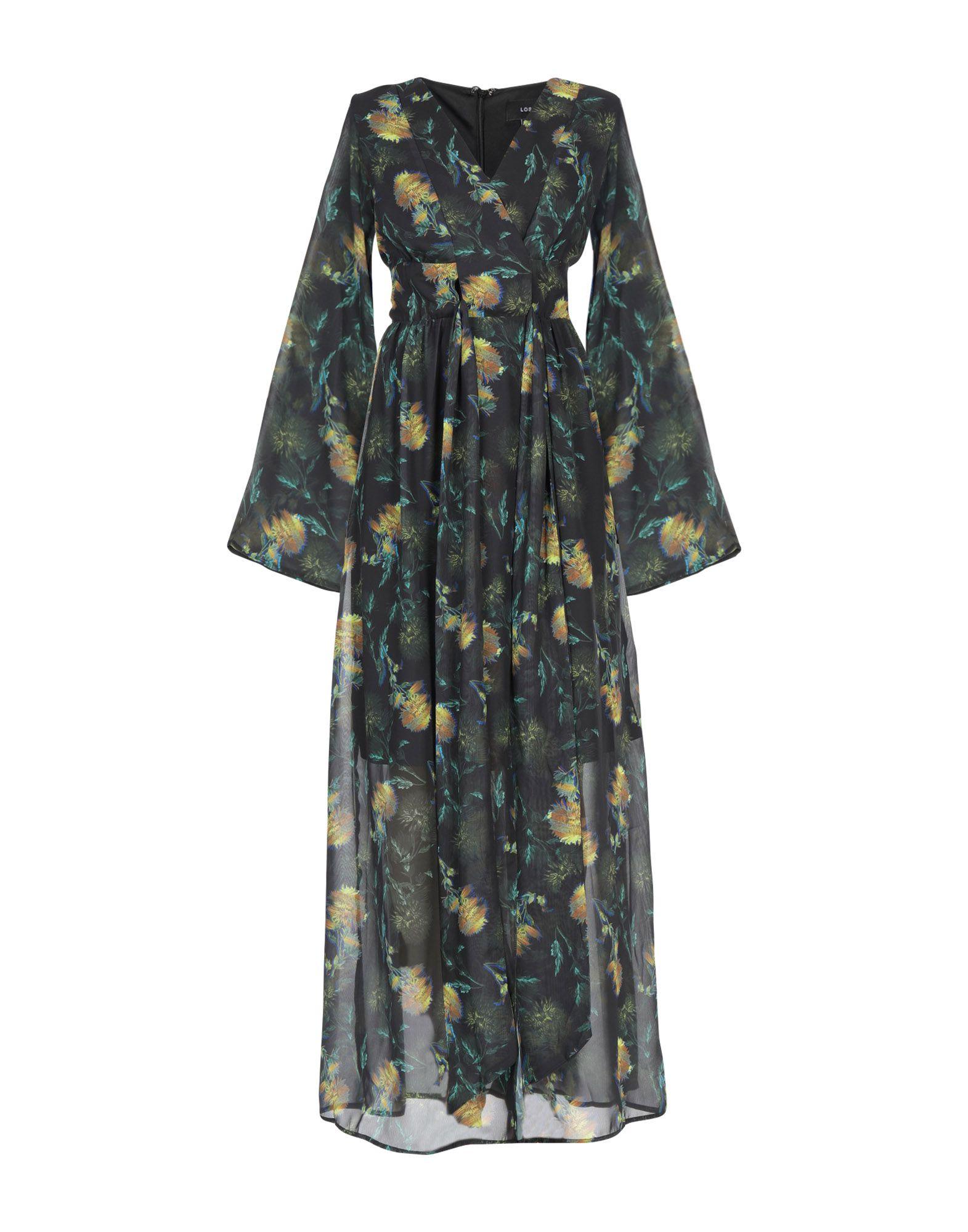 LOST INK Длинное платье