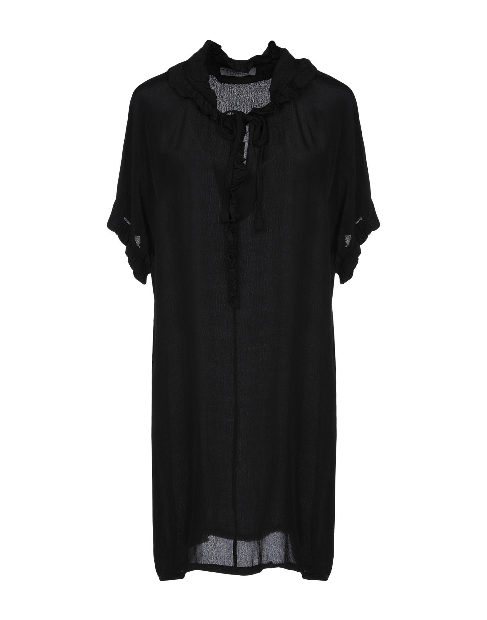 TO-LU Короткое платье streetstorm cvr n8810w g