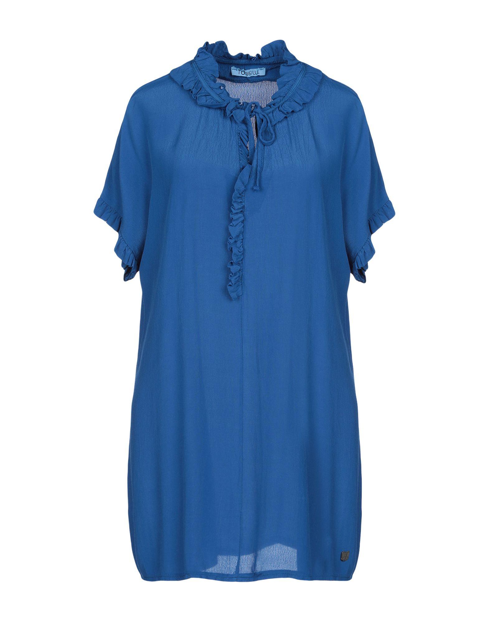 TO-LU Короткое платье цена