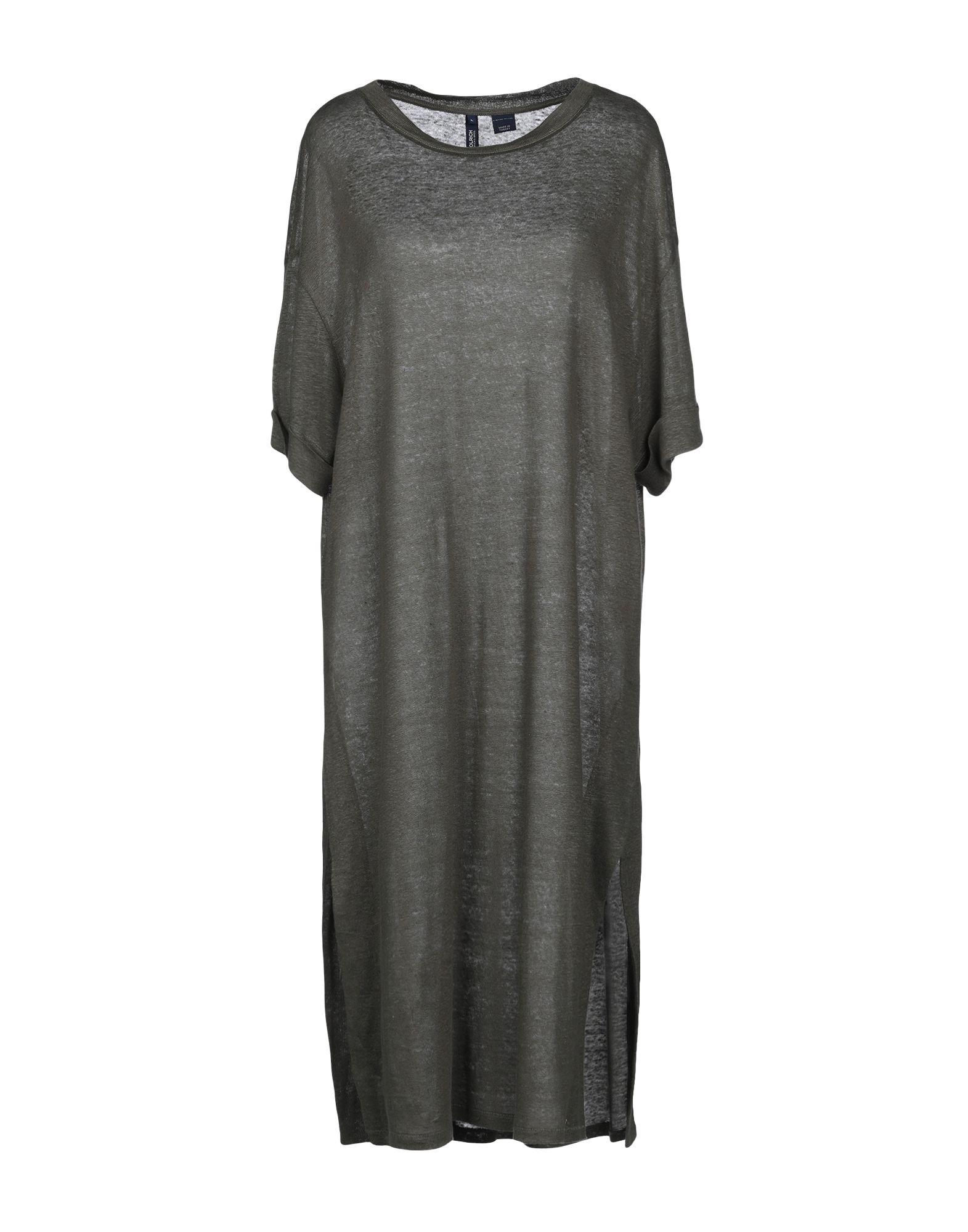 цена WOOLRICH Платье до колена онлайн в 2017 году