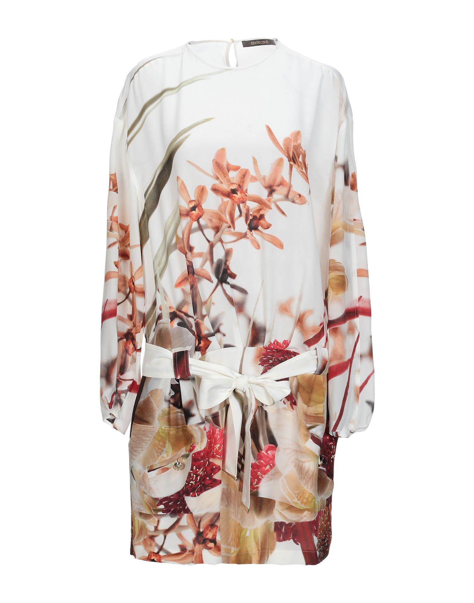 купить ROBERTO CAVALLI Короткое платье по цене 43650 рублей
