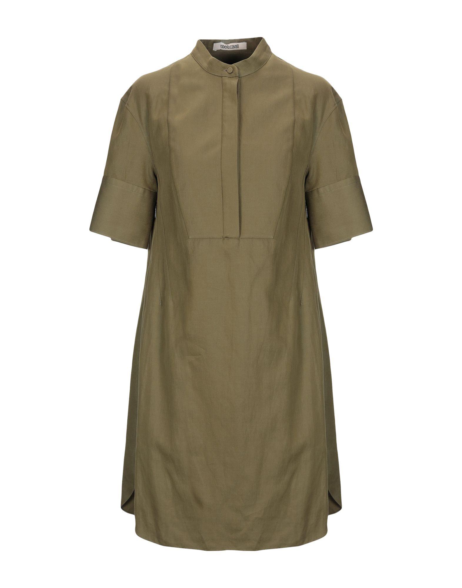 ROBERTO CAVALLI Короткое платье платье рубашка fox yulia sway платье рубашка fox