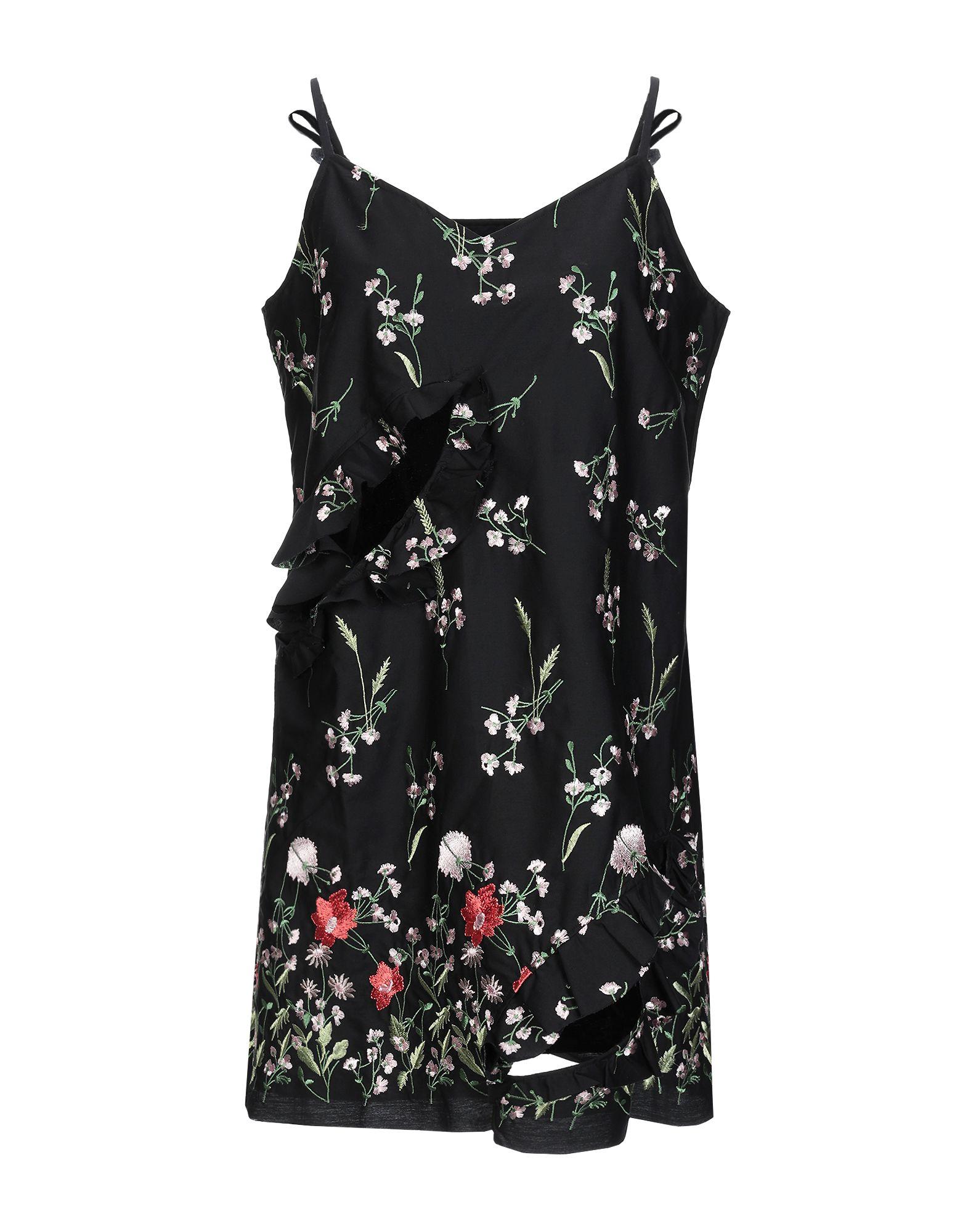 MARQUES' ALMEIDA Короткое платье marques almeida топ без рукавов