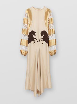 Cascading dress