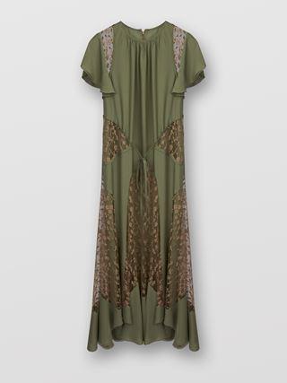 Ankle-length dress