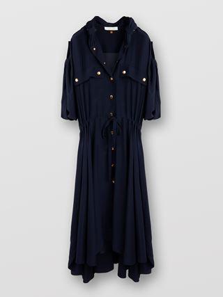 Mantelförmiges Kleid