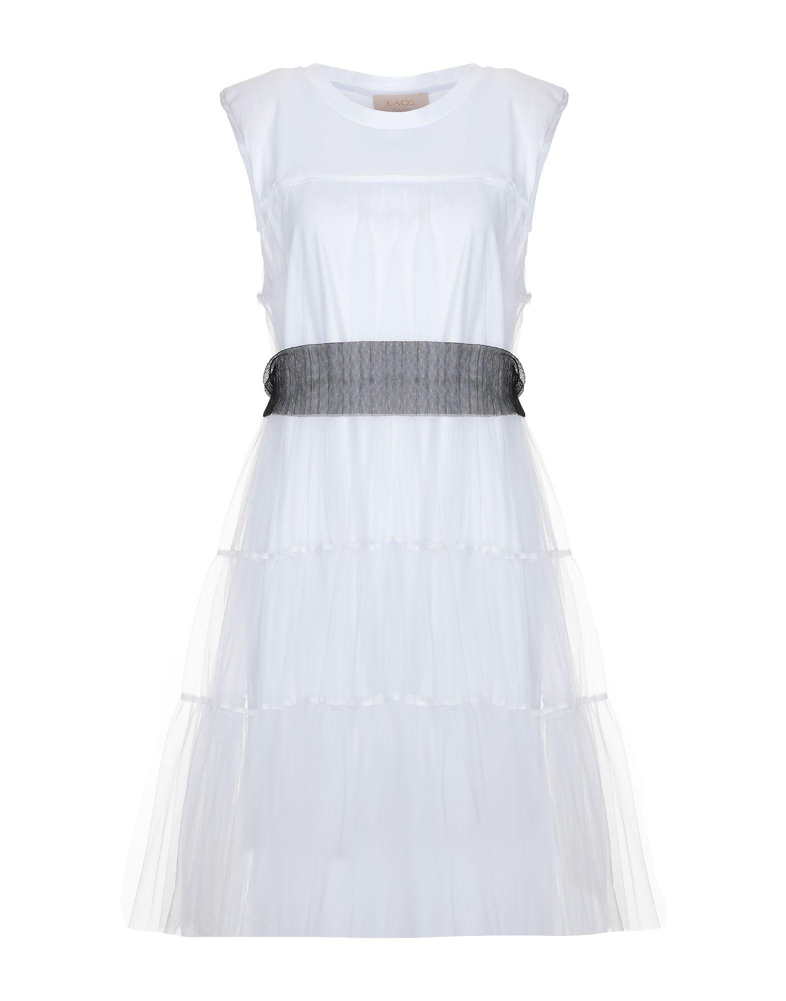 KAOS JEANS Платье до колена цена 2017