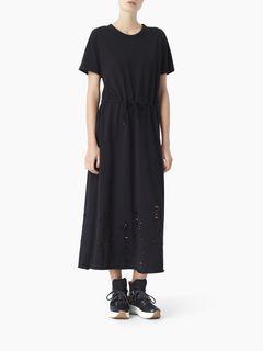 ドローストリングドレス