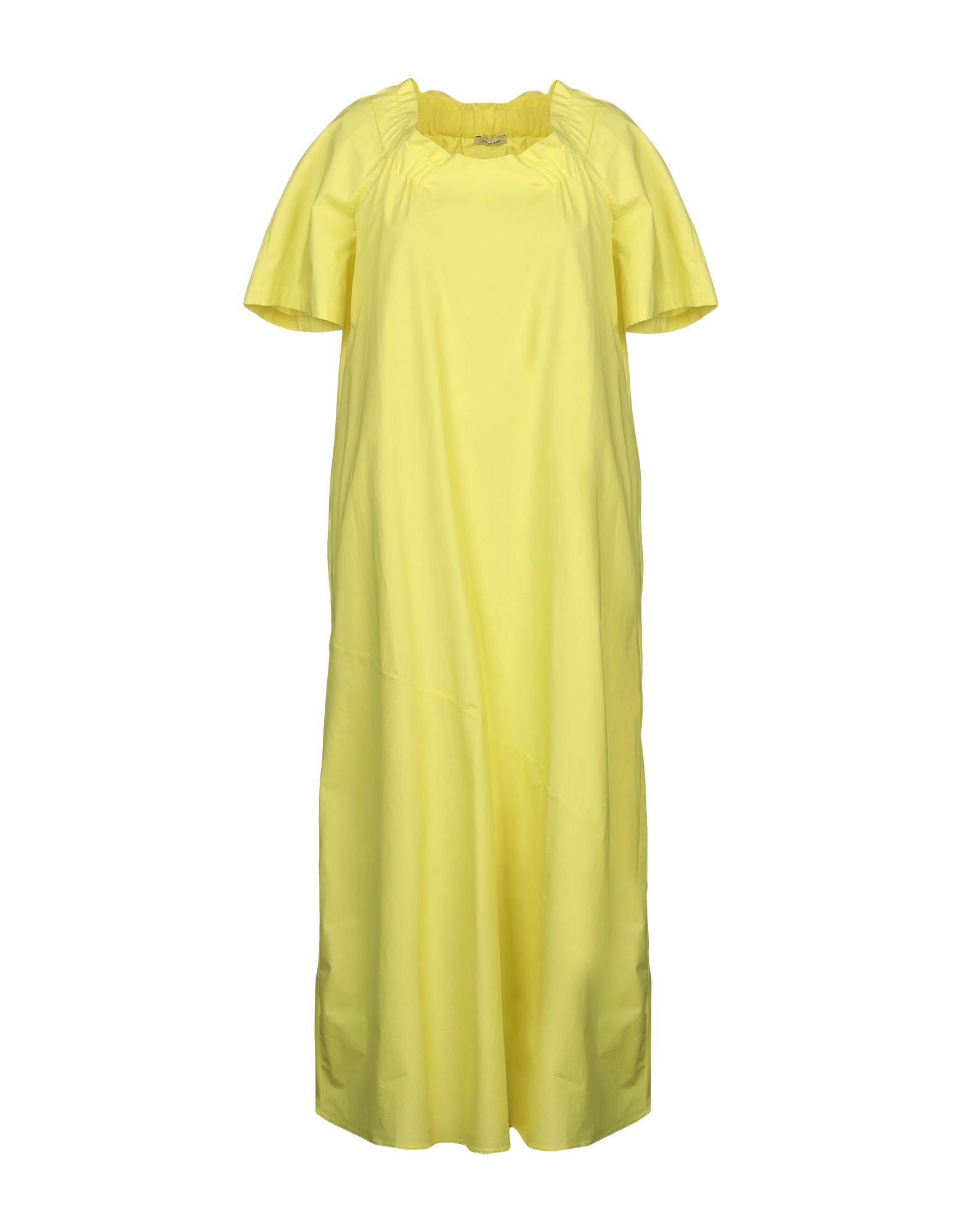 JUPE DE SATIN Платье длиной 3/4 цена