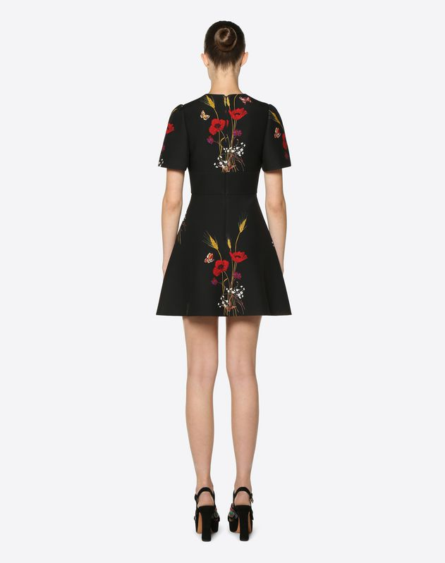 Abito in Crepe Couture Flowery Meadow