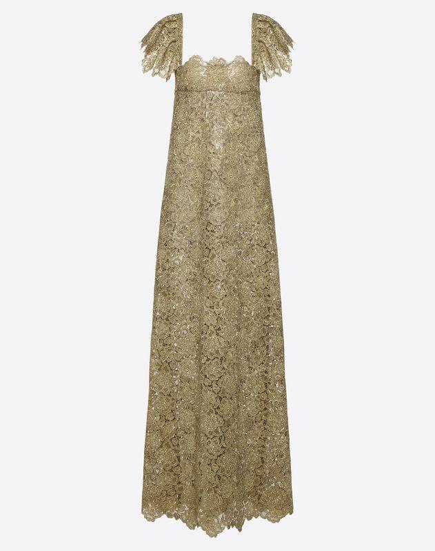 Vestido de noche de guipur Anemone
