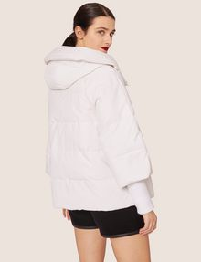 ARMANI EXCHANGE CROPPED HOODED PUFFER JACKET PUFFER JACKET [*** pickupInStoreShipping_info ***] e