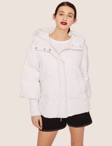 ARMANI EXCHANGE CROPPED HOODED PUFFER JACKET PUFFER JACKET [*** pickupInStoreShipping_info ***] f