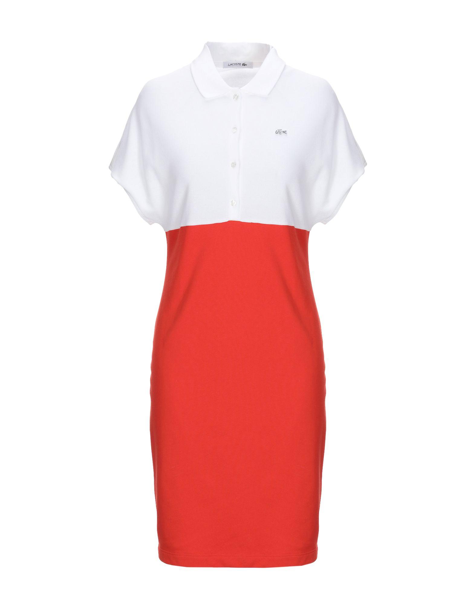 LACOSTE Короткое платье платье