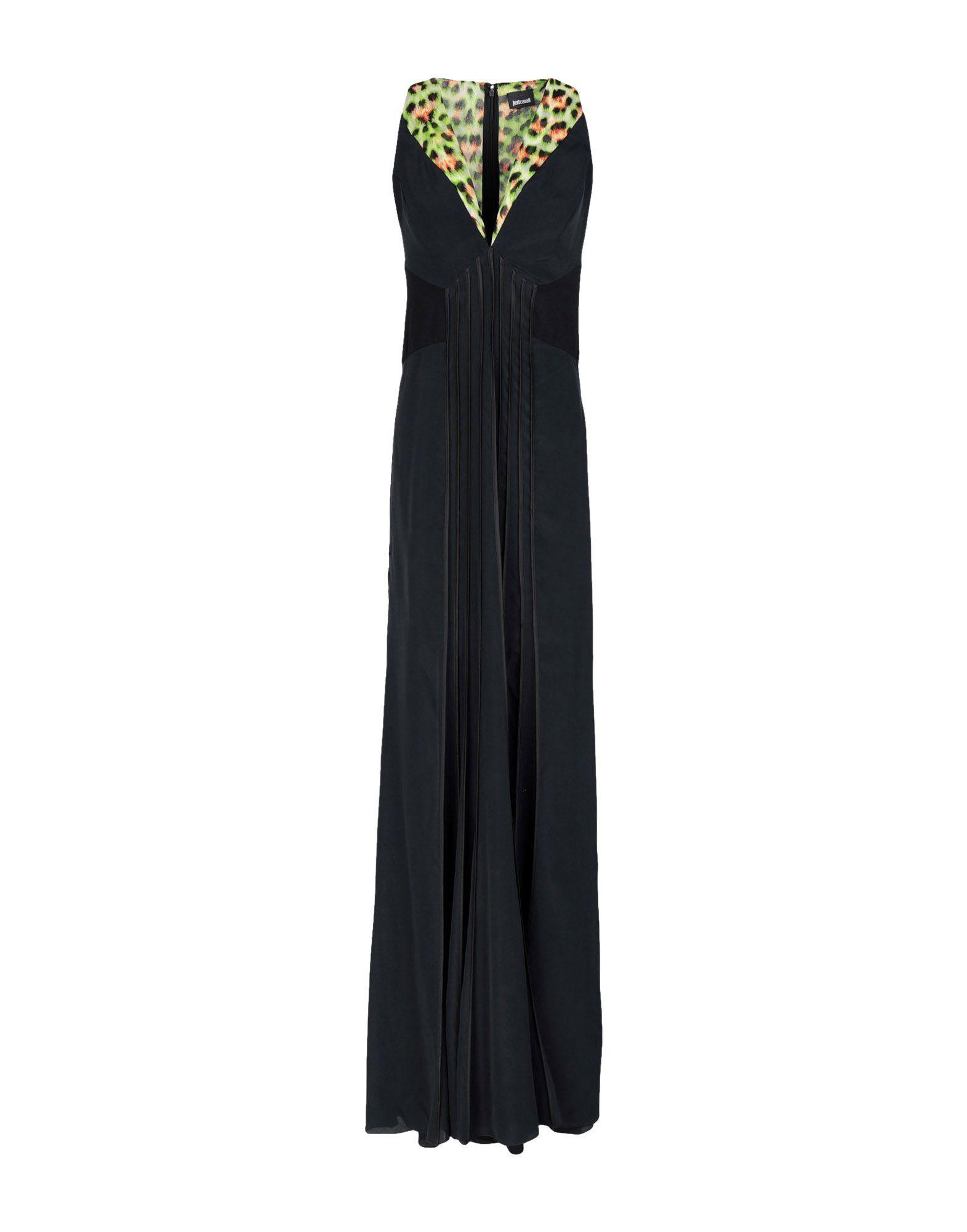 Длинное платье  Черный цвета