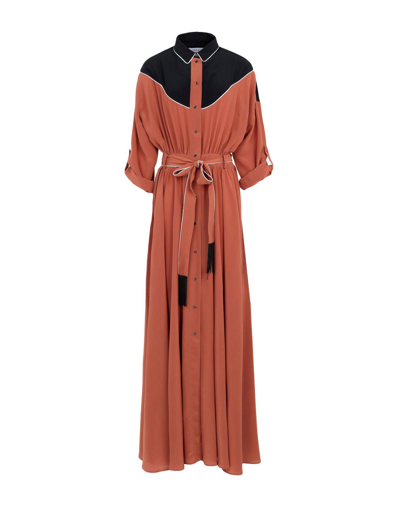 L.A L.A TEX RANCH WEAR Длинное платье ель новогодняя crystal trees 21 м триумфальная с шишками kp8621