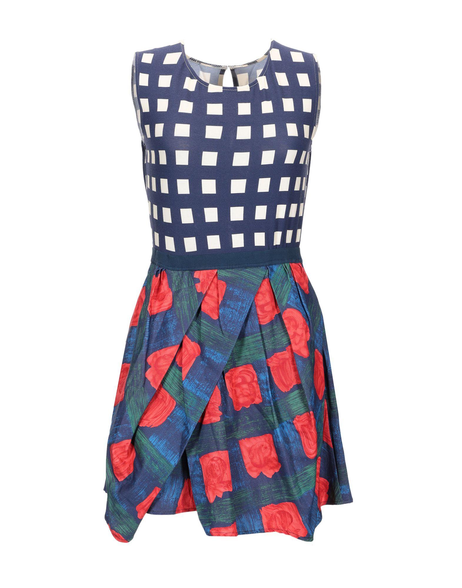 EGGS Короткое платье недорго, оригинальная цена