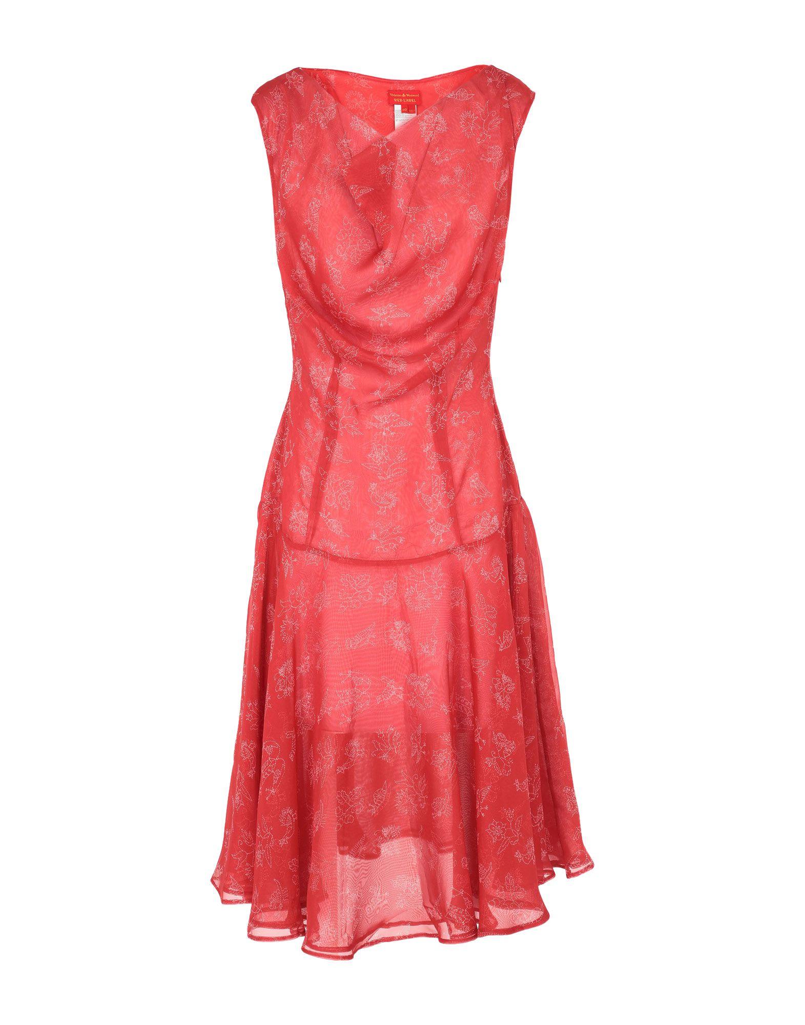 Фото - VIVIENNE WESTWOOD RED LABEL Платье до колена vivienne westwood red label длинное платье