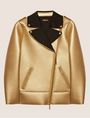 ARMANI EXCHANGE METALLIC BONDED LONGLINE MOTO Blouson Jacket [*** pickupInStoreShipping_info ***] r