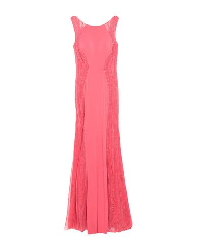 Купить Женское длинное платье  кораллового цвета