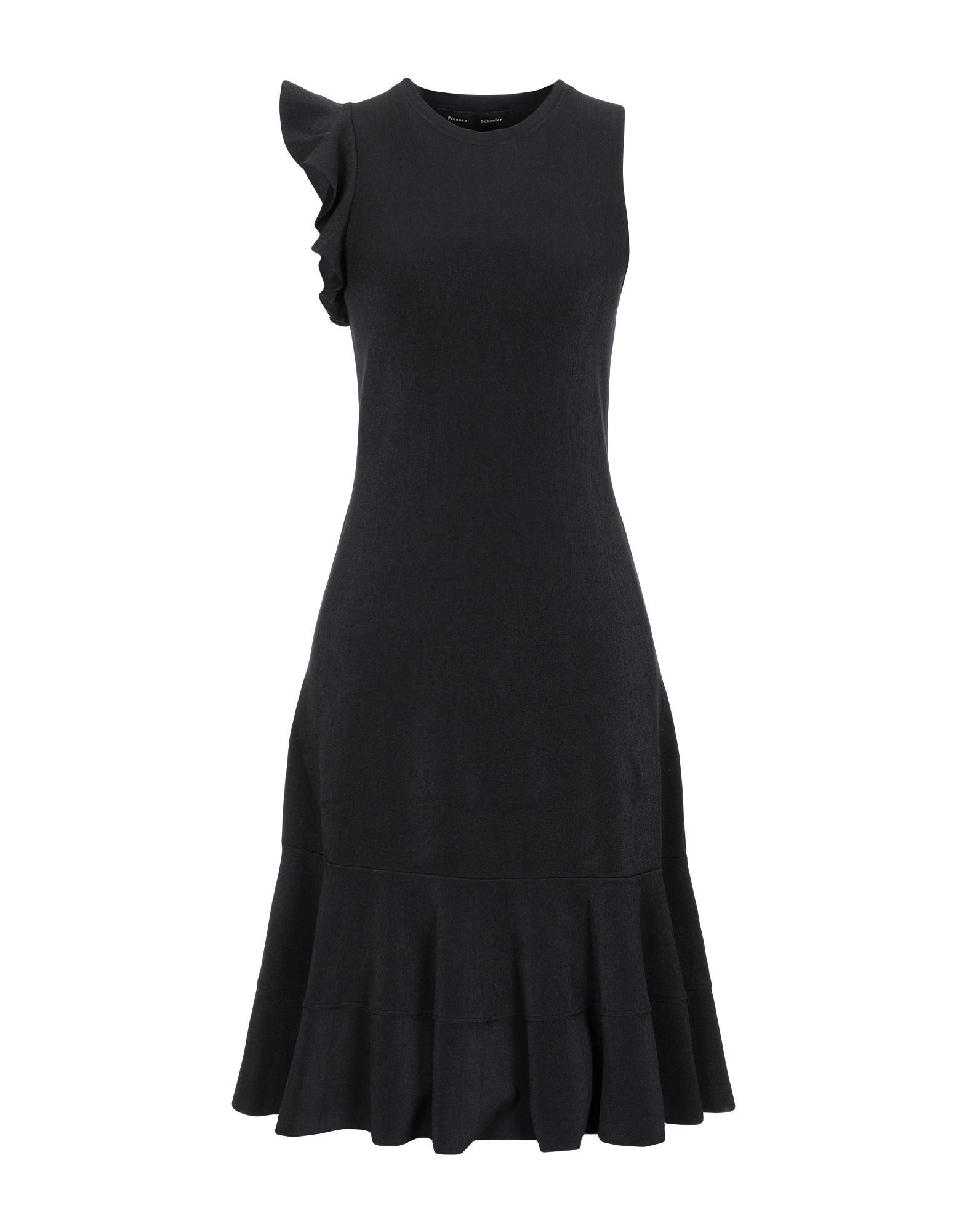 PROENZA SCHOULER Платье до колена proenza schouler вязаное платье в полоску