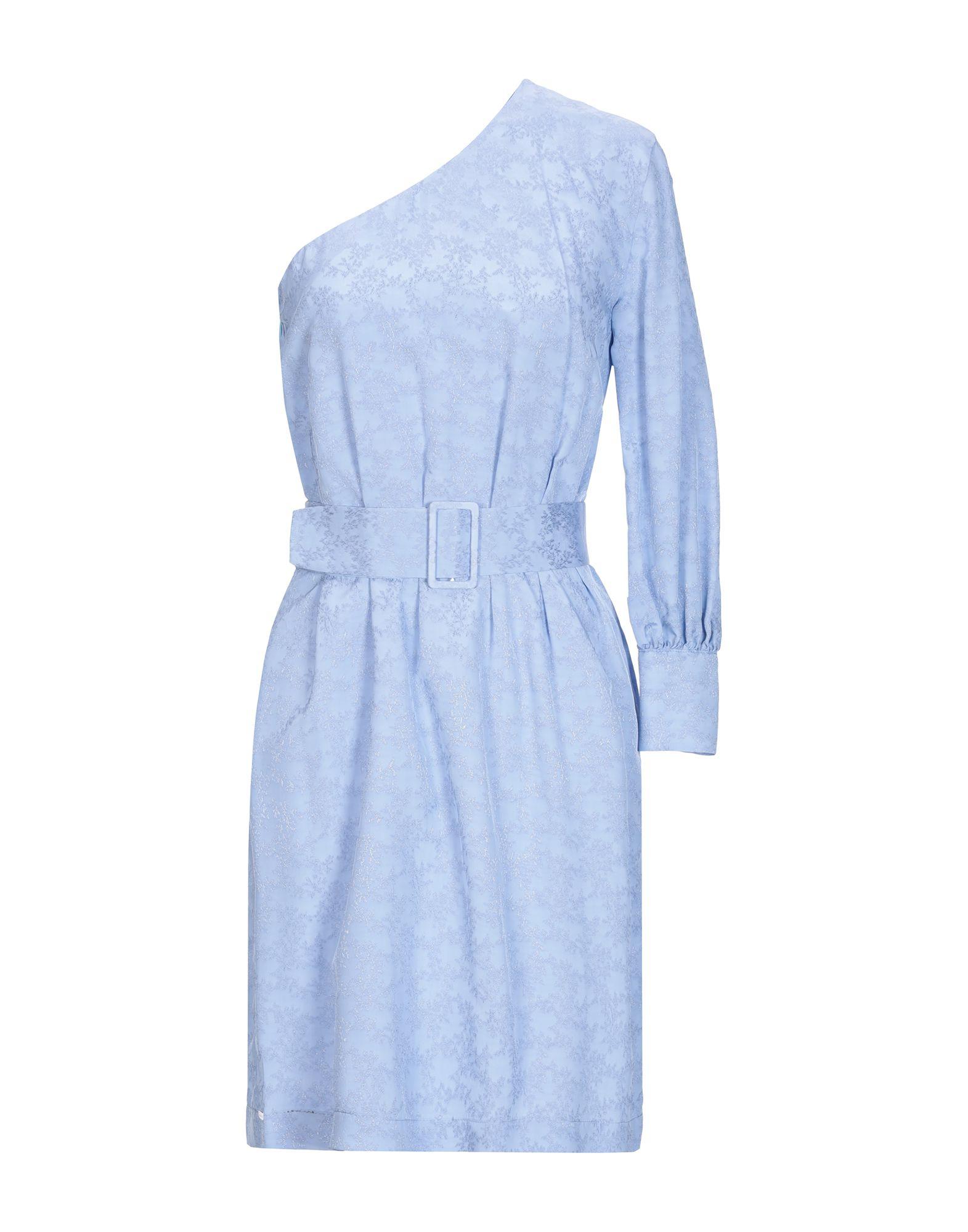 AGLINI Короткое платье aglini ремень