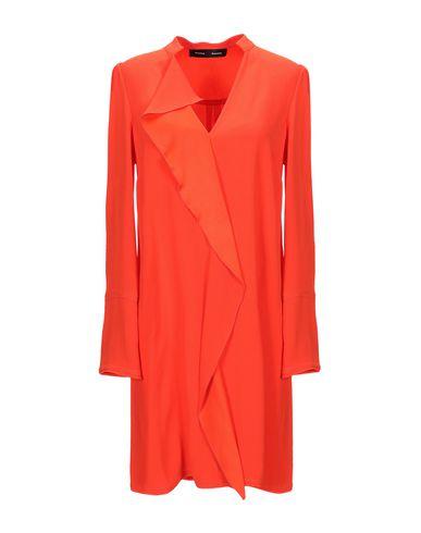 Купить Женское короткое платье  кораллового цвета